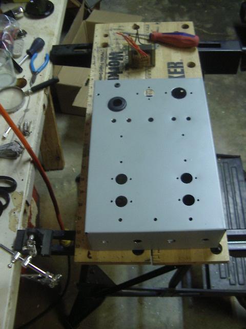 6AQ5 Stereo Tube Amp 006