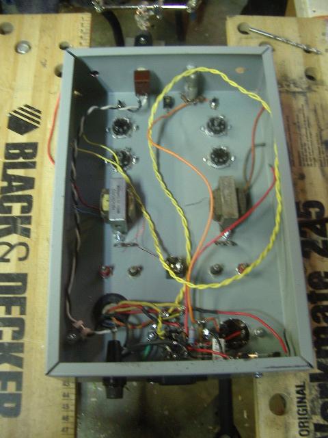 6AQ5 Stereo Tube Amp 008