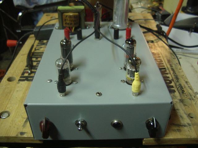 6AQ5 Stereo Tube Amp 010
