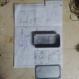 Circuit Plan and Bare Case